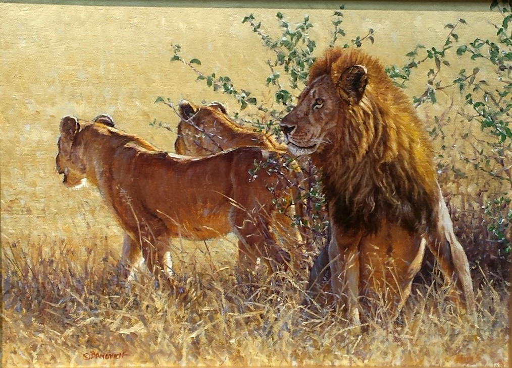 New Works-Original Western Wildlife Sporting Paintings